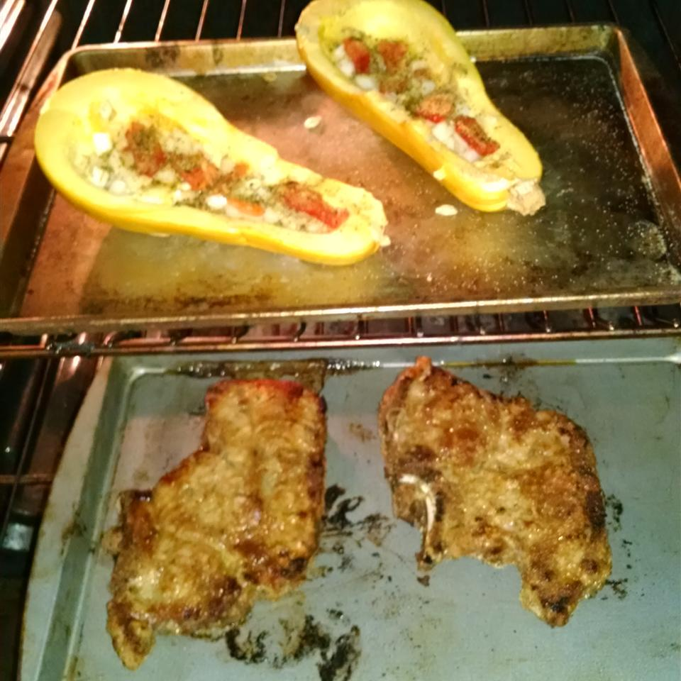 Baked Lamb Chops DonnieandLucinda Allen