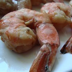 Honey Grilled Shrimp Angela F.