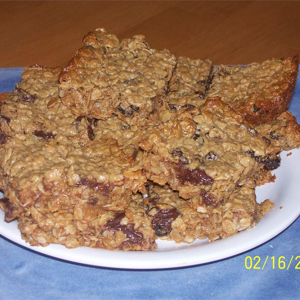 Oatmeal Peanut Butter Bars Tina G