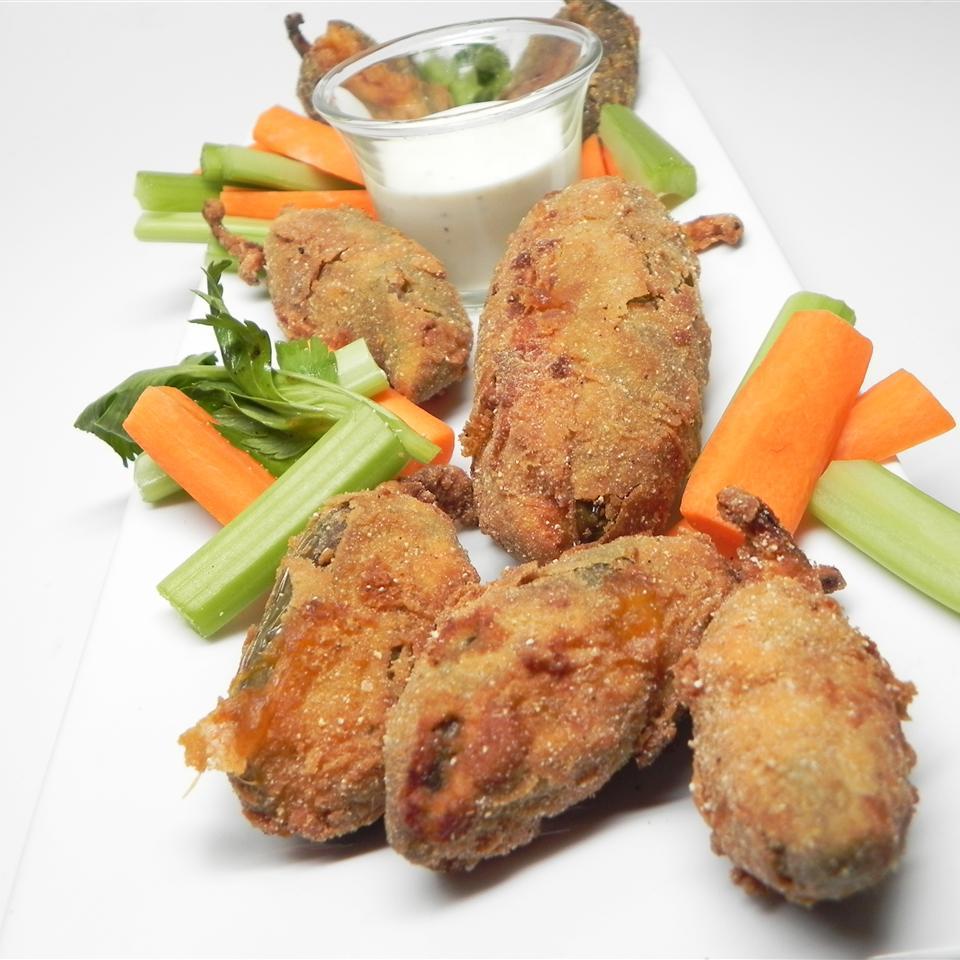 Jodi's Deep-Fried Stuffed Jalapenos