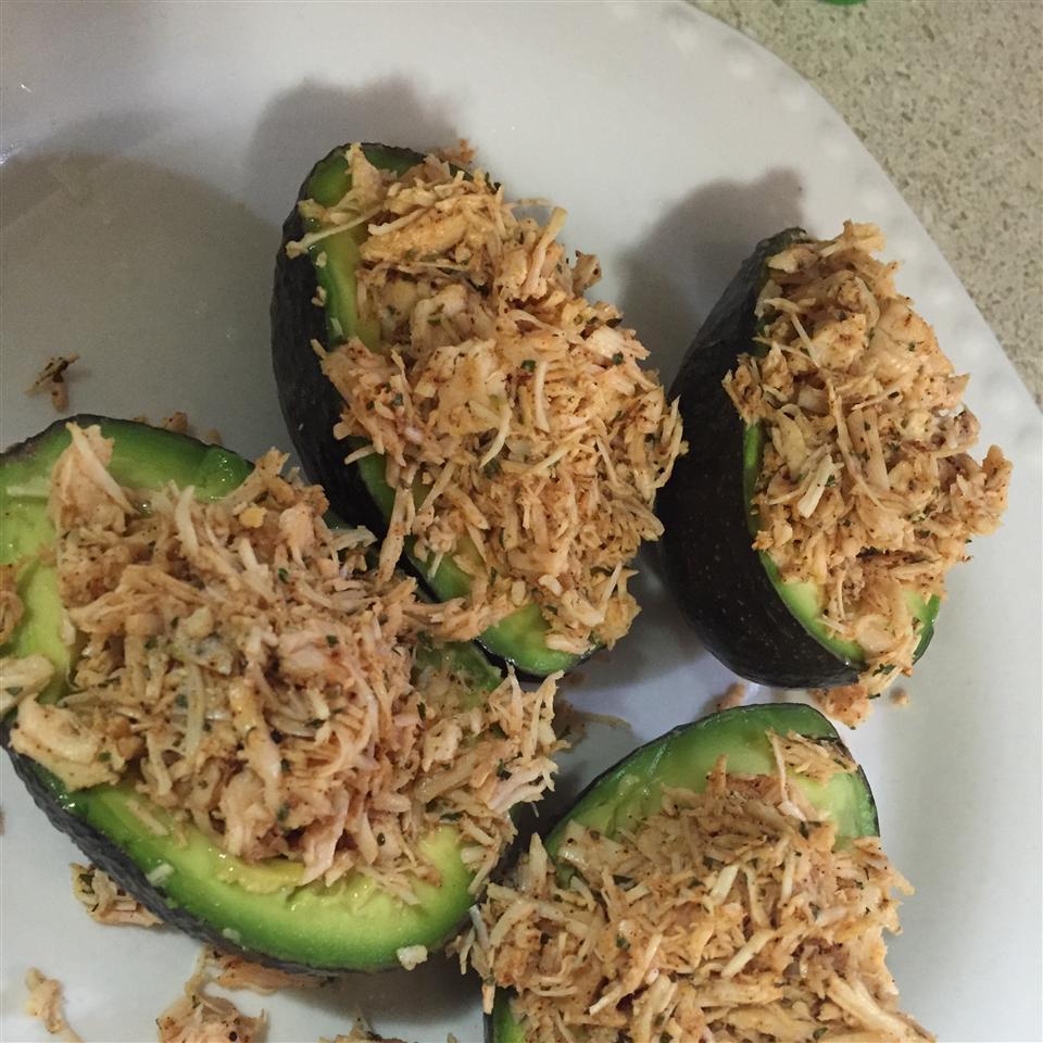 Mexi-Chicken Avocado Cups