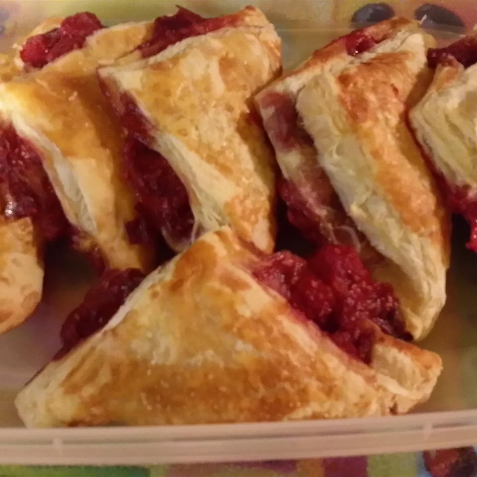 Fresh Raspberry Turnovers Della Muhammed