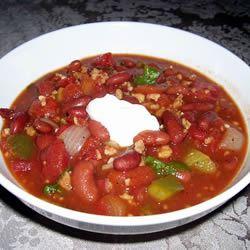 Wicked Good Veggie Chili spidermonkey555
