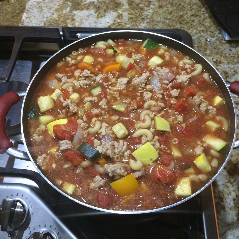 Zucchini Tomato Soup I