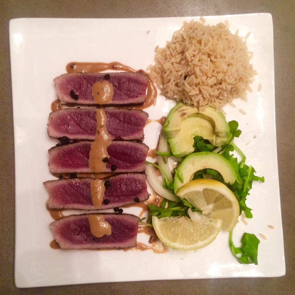 Wasabi Yellowfin Tuna Peter Crisafi (DZINE IT)