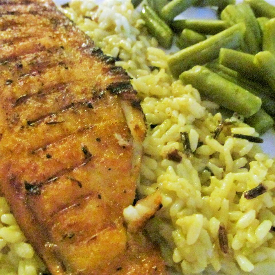 "Another weeknight winner. Brush tilapia fillets with olive oil, sprinkle with paprika, and grill. ""This was delicious and easy to prepare!"" says sugarplum. ""I cooked this on an outdoor grill and it had a wonderful smoky flavor."""