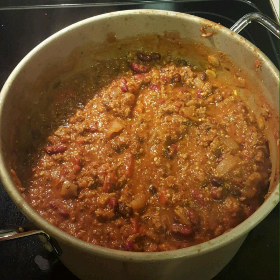 Wicked Easy Chili Heather Tunink