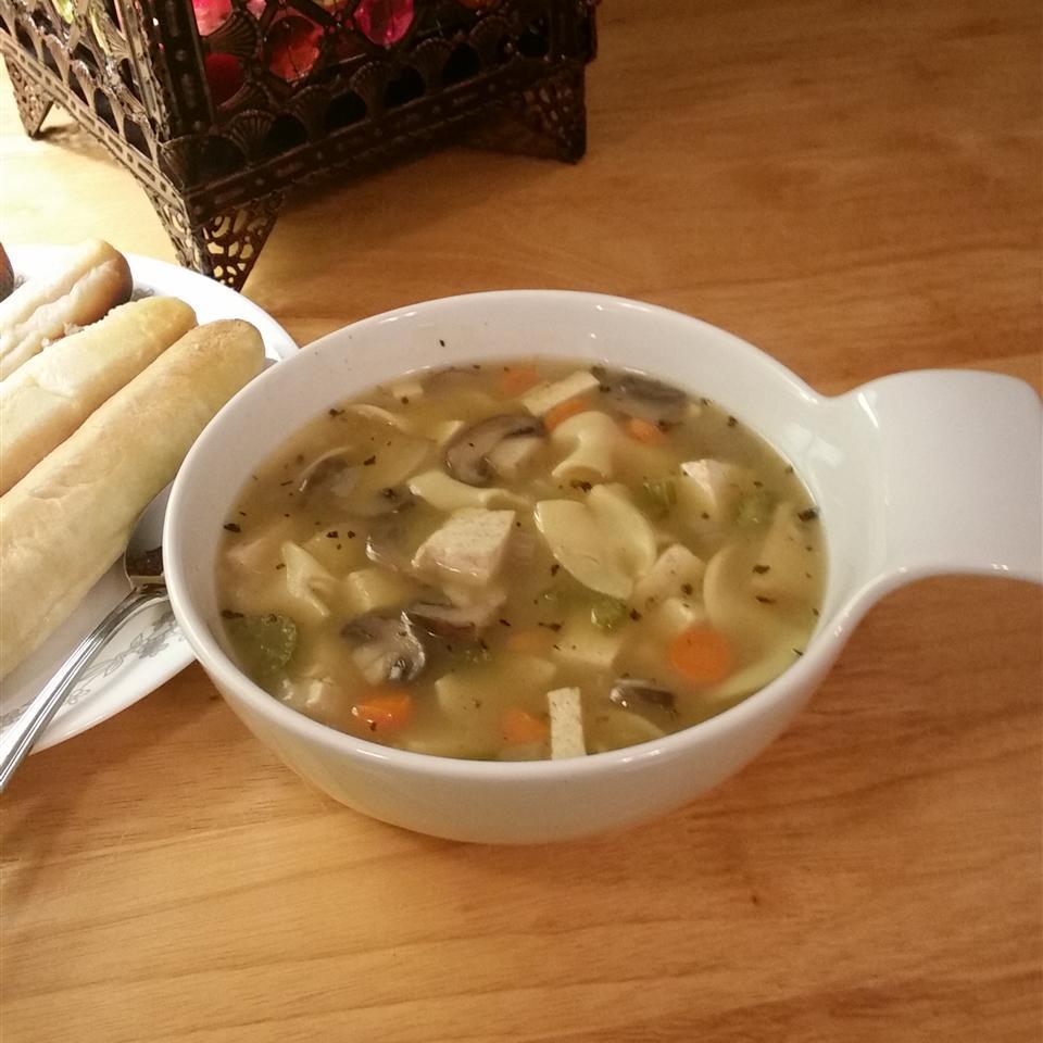Sarah's Tofu Noodle Soup Tricia Johnson