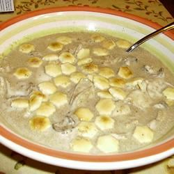 Mom's Oyster Stew Cindy in Pensacola