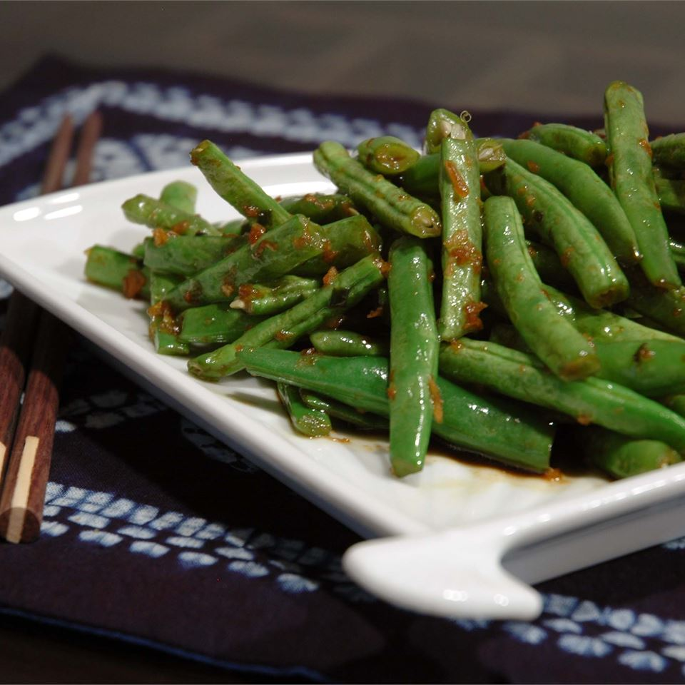 Asian-Inspired Green Bean Salad LynnInHK
