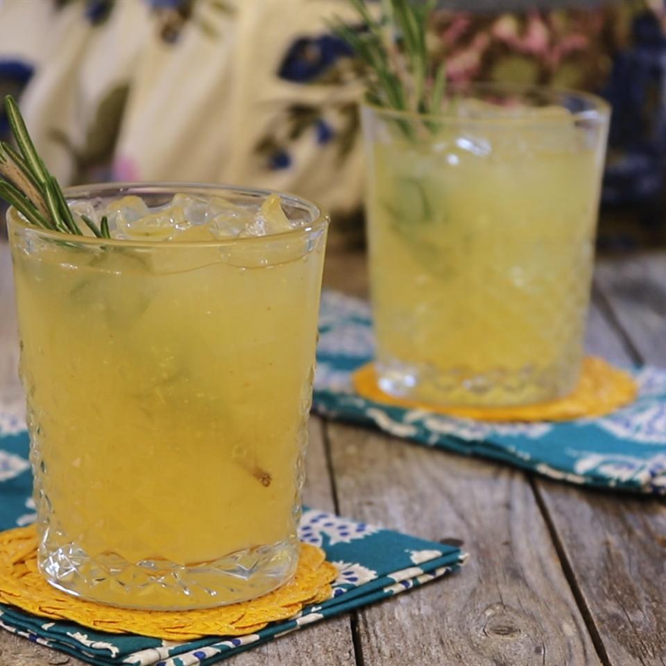 Spicy Lemon Ginger Switchel Allrecipes
