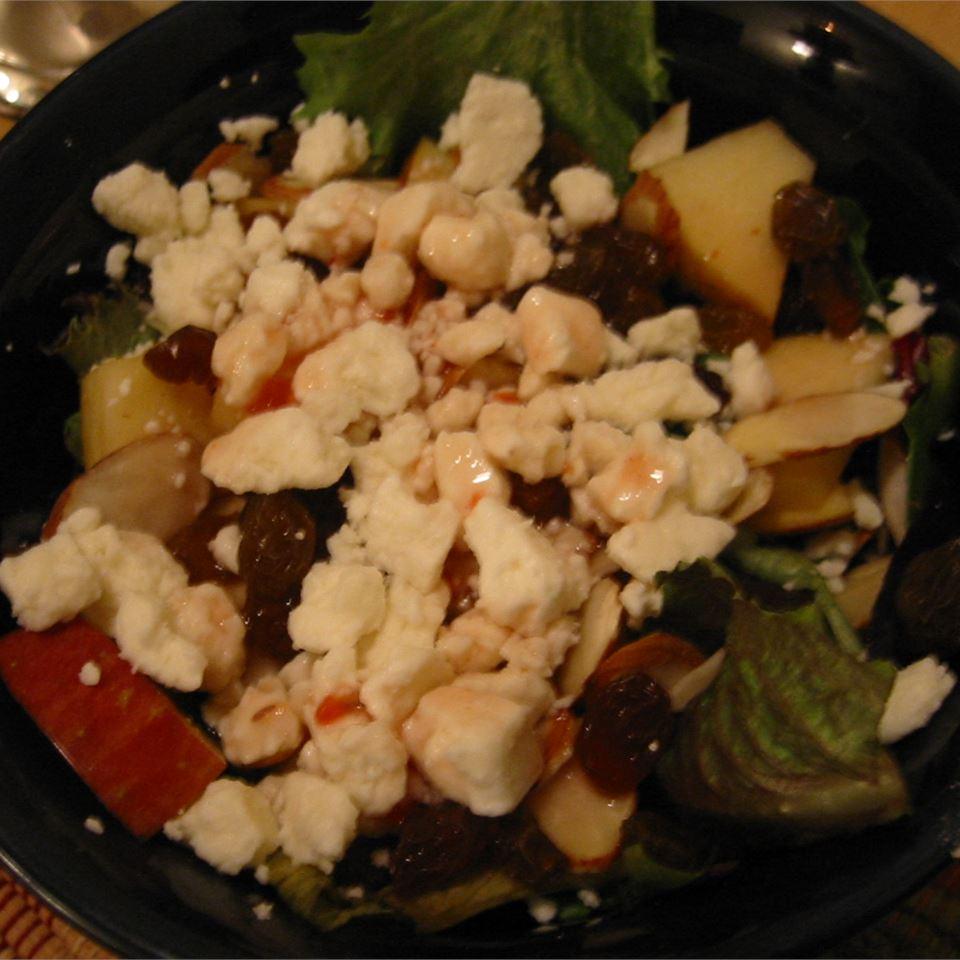 Apple Almond Crunch Salad Liz Evans