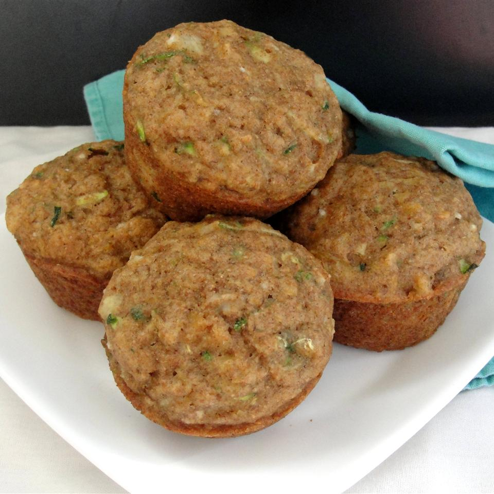 Pineapple Zucchini Muffins Rock_lobster