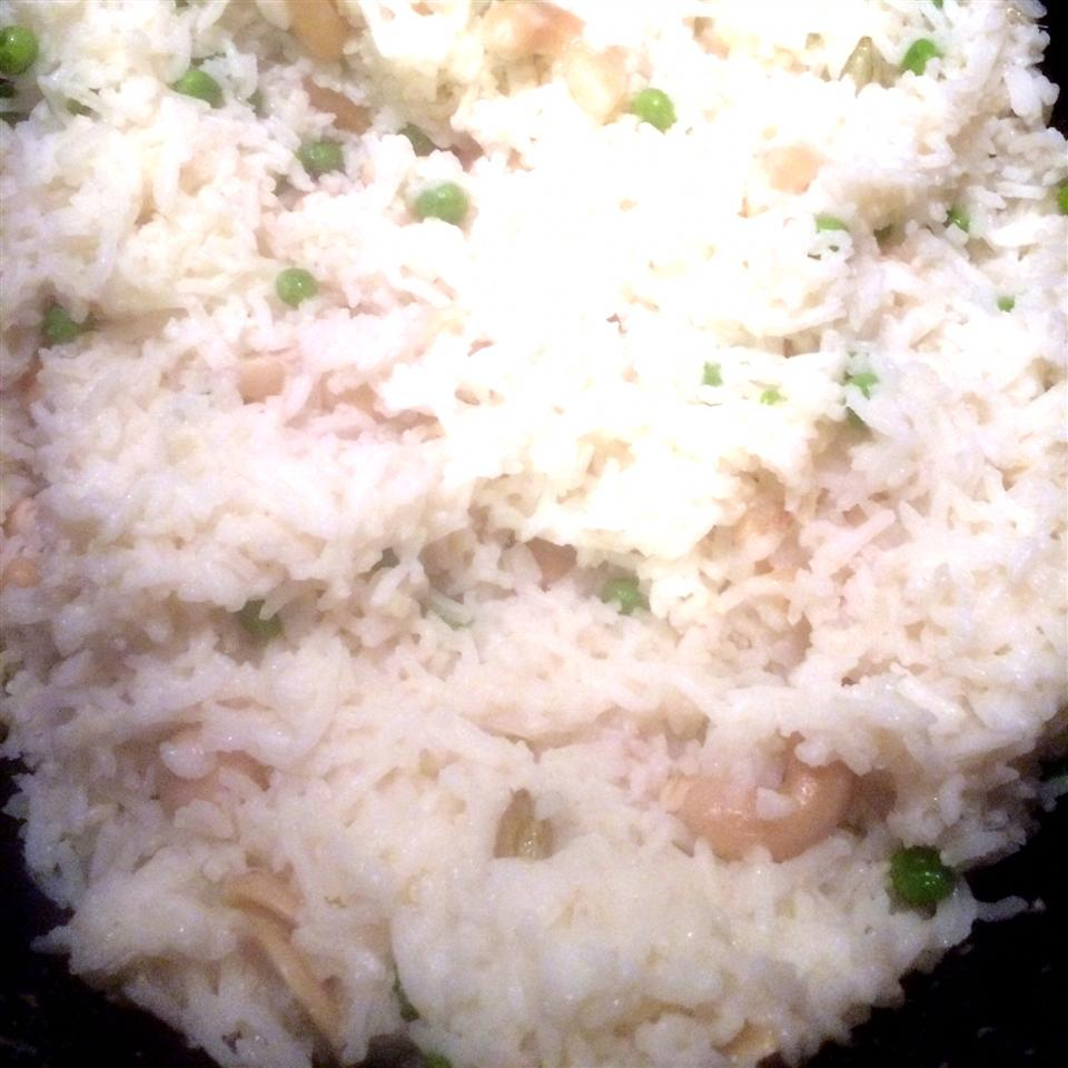 Matar Pulao (Rice with Peas)