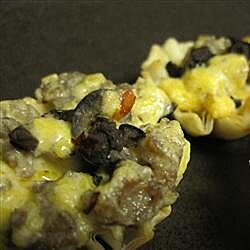 sausage and mushroom tarts recipe