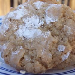 Self Frosting Oatmeal Cookies