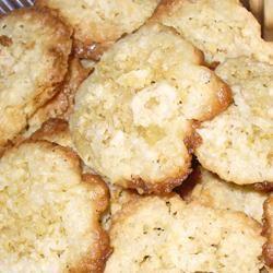 Oatmeal Coconut Thin Crisps ladybuggs5224