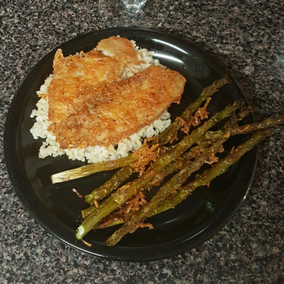Parmesan Crusted Tilapia Fillets LaKimberly Johnson
