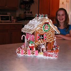 Children's Gingerbread House LoriAnne Parks