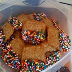 Brown Sugar Shortbread Cookies JeanBean