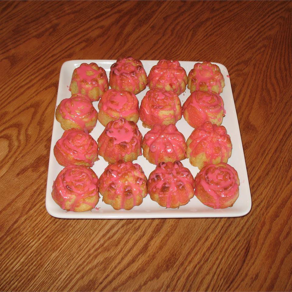 Rose Petal Pound Cake Jennifer