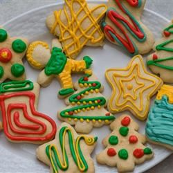 Sour Cream Sugar Cookies I