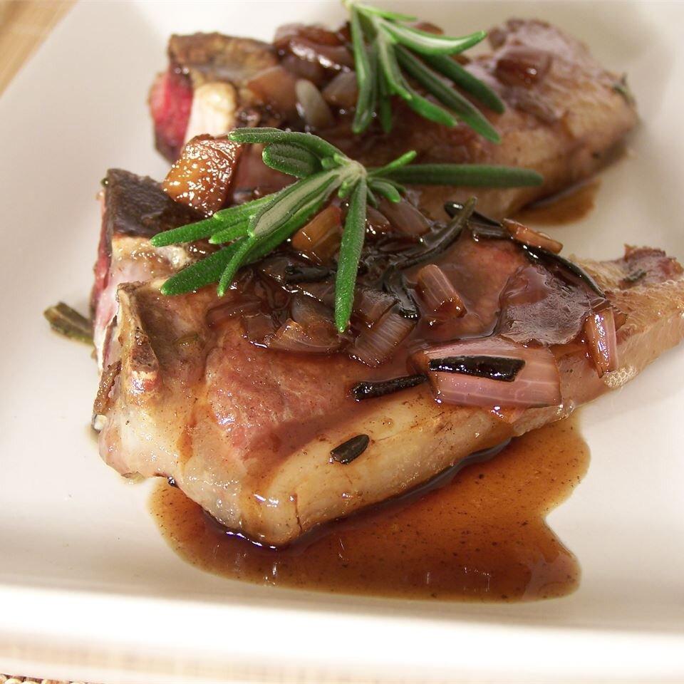 lamb chops recipe allrecipes Lamb Chops with Balsamic Reduction
