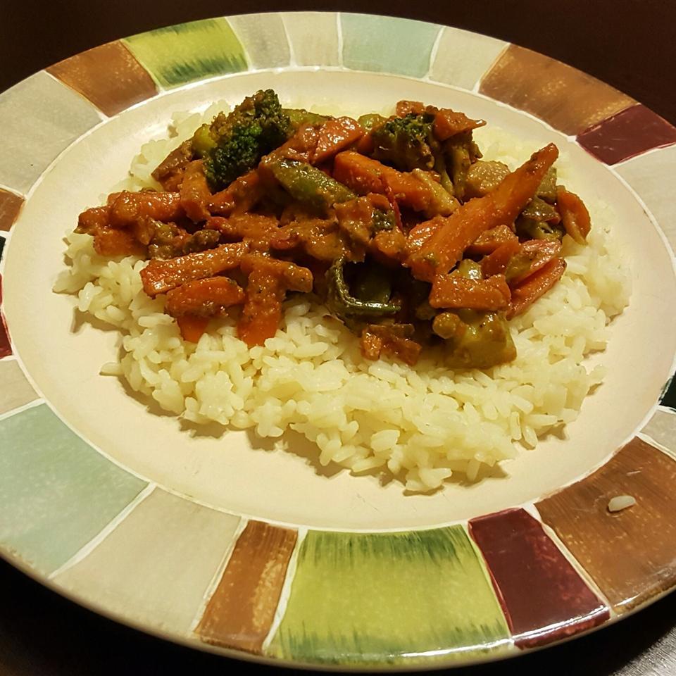 Frozen Vegetable Stir-Fry