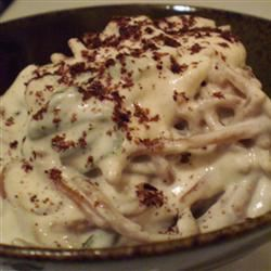 Pasta with Yogurt Sauce Mochi Puffs