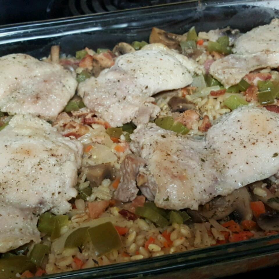 Barley Chicken Casserole Stacey B