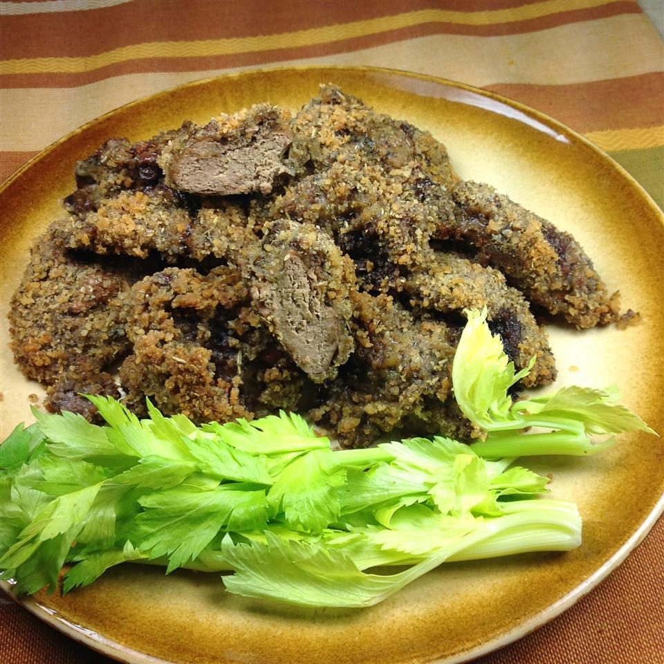 Ritzy Chicken Livers Lisa Collins