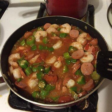 easy creole okra and shrimp recipe
