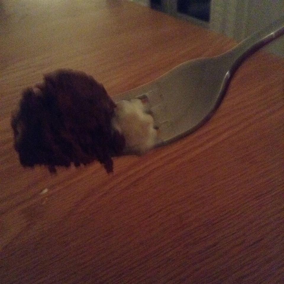 Brownie In a Mug choccy