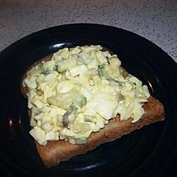cucumbers and egg salad recipe