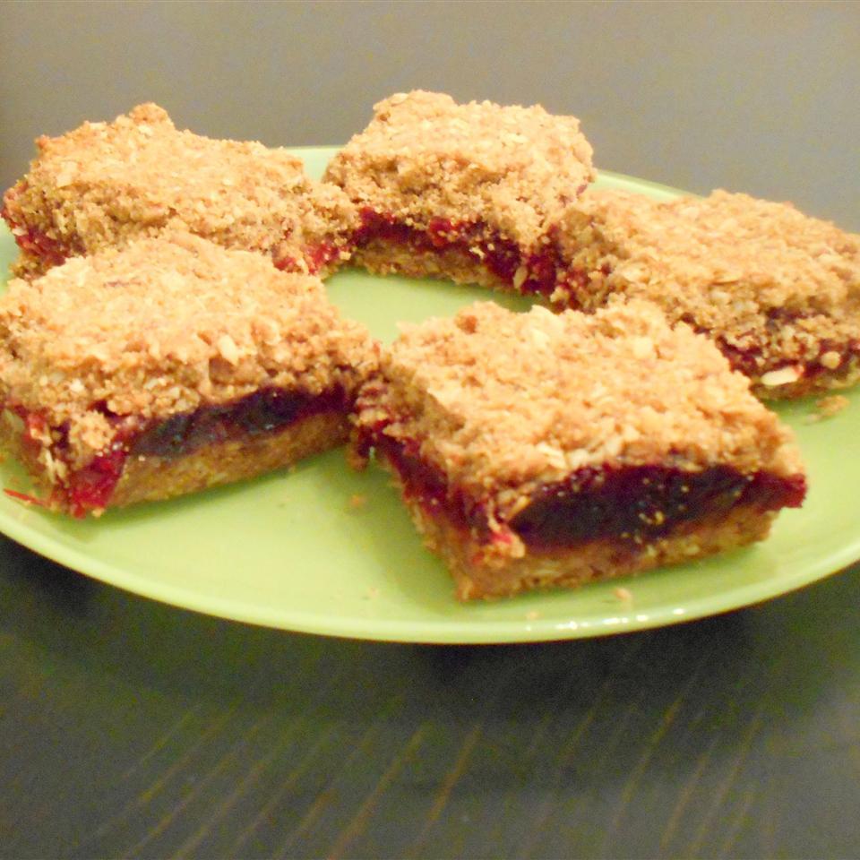 Cranberry Jam Bars ONIOND