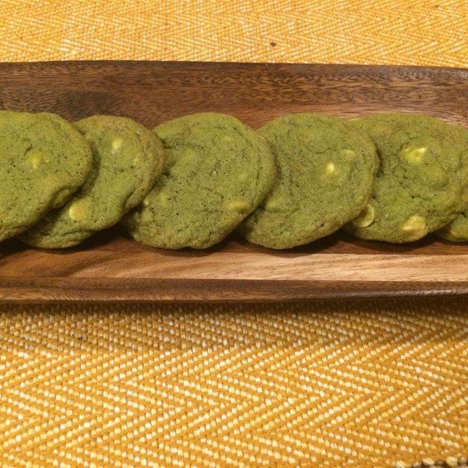 Matcha Green Tea Chocolate Chip Cookies May214
