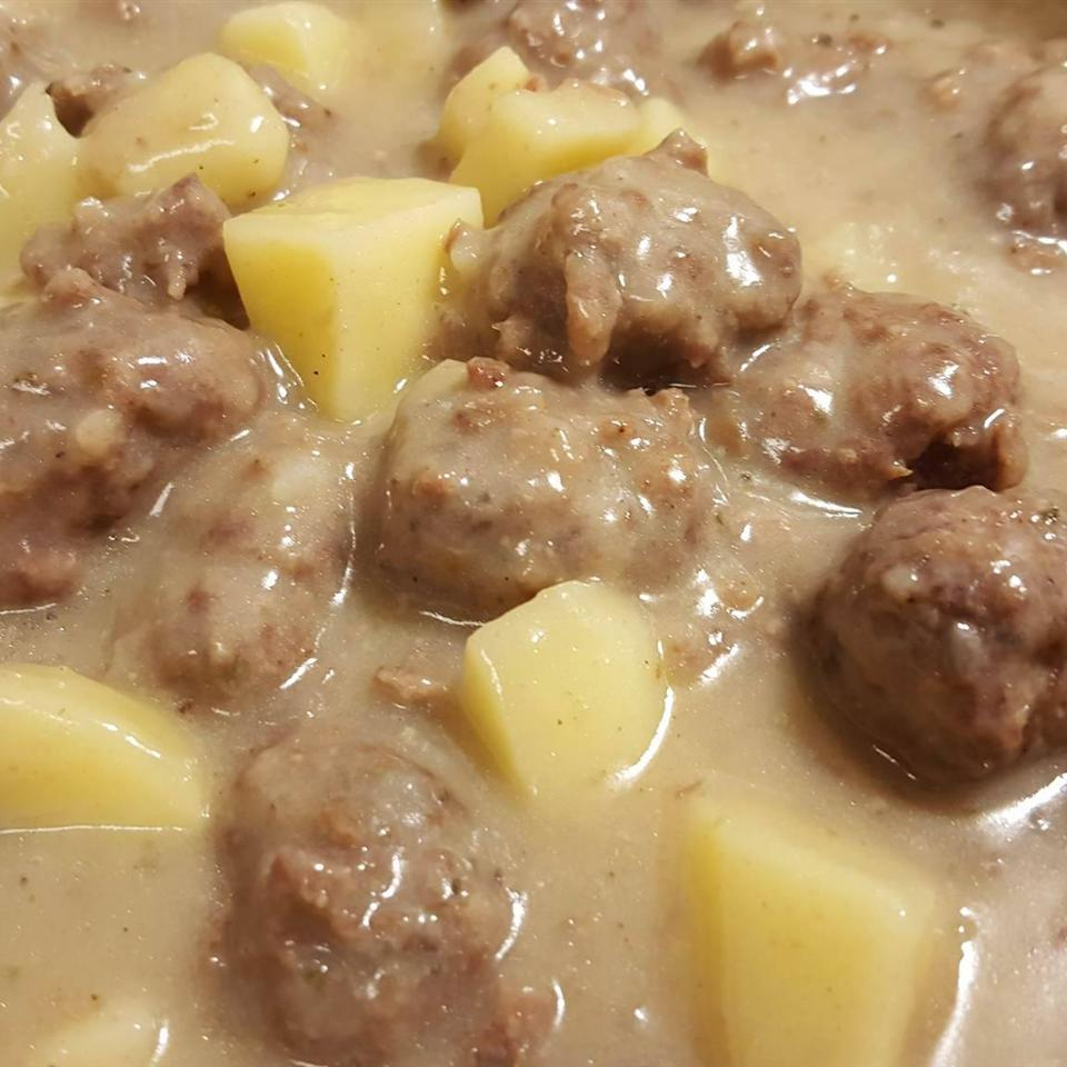 French Canadian Meatball Stew Melanie8888