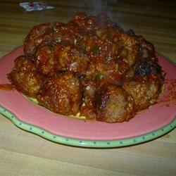 BBQ Cola Meatballs