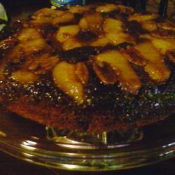 Gingerbread Pear Cake