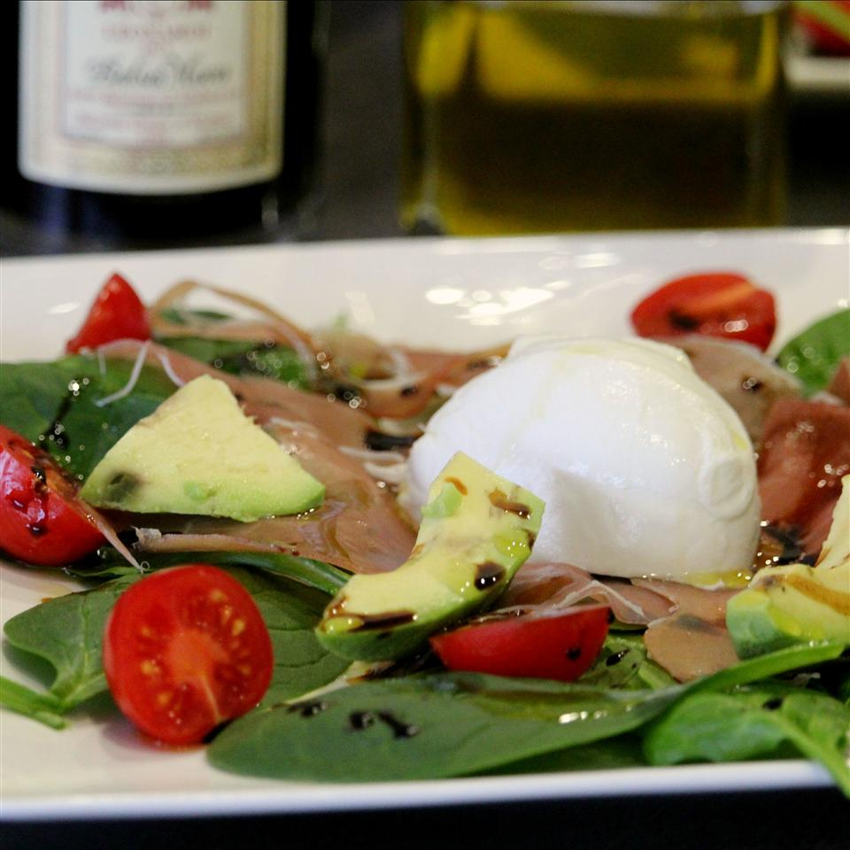 Fresh Avocado Burrata Salad