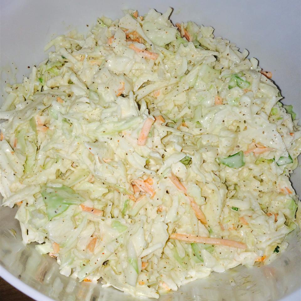 Creamy Spiced Coleslaw careybenton