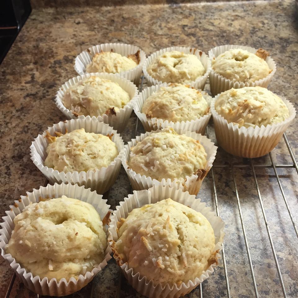 Shannon's Banana Coconut Muffins