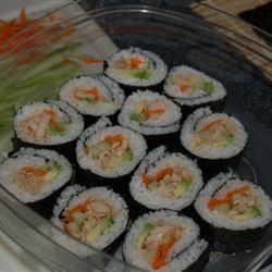 Spicy Tuna Sushi Roll sugarplum9085