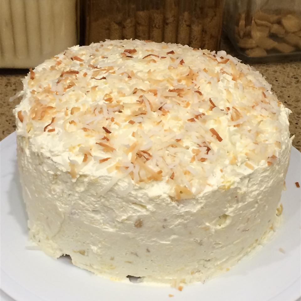 Pina Colada Rum Cake TLM