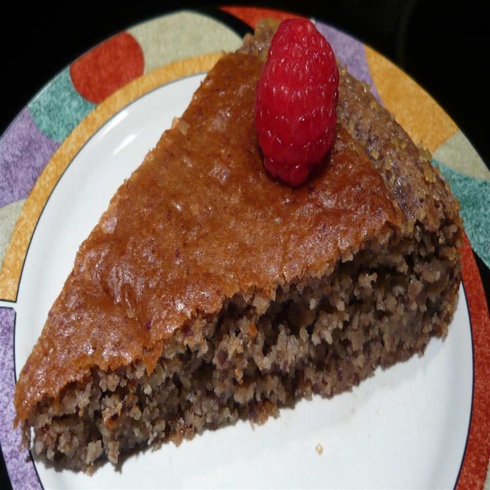 Fabienne's Gluten-Free Raspberry Almond Cake