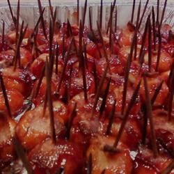 Bacon Wrapped Water Chestnuts III