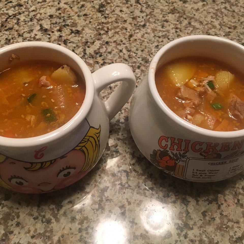 Dakdoritang (Korean Spicy Chicken Stew) XFitGurl