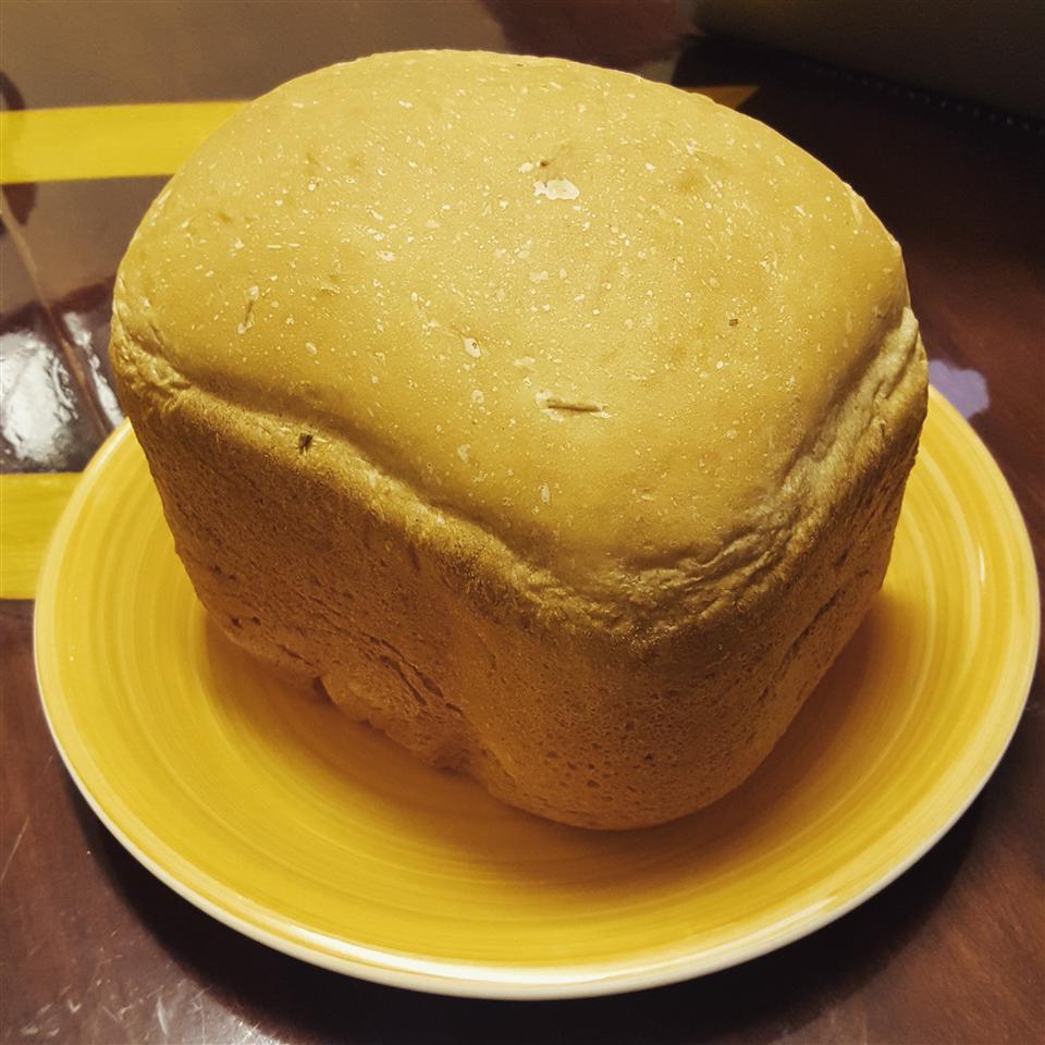 Super Easy Rosemary Bread Machine Bread