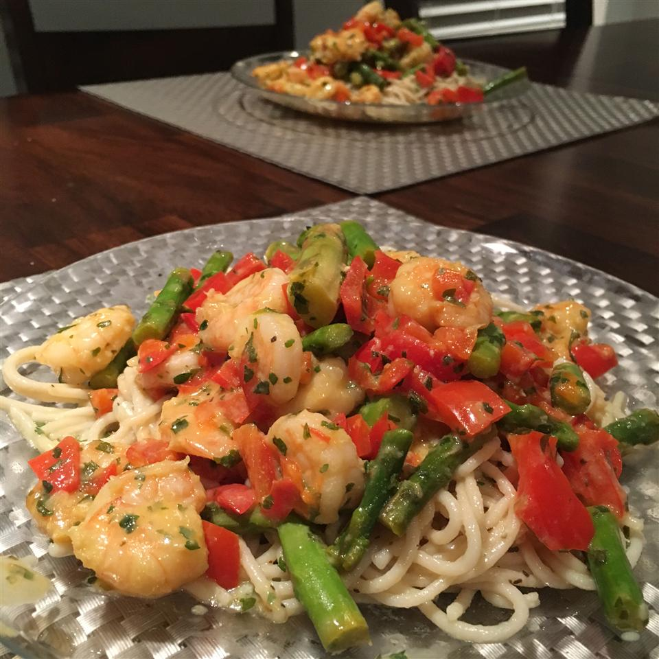 Lemon-Garlic Shrimp & Vegetables Eladio
