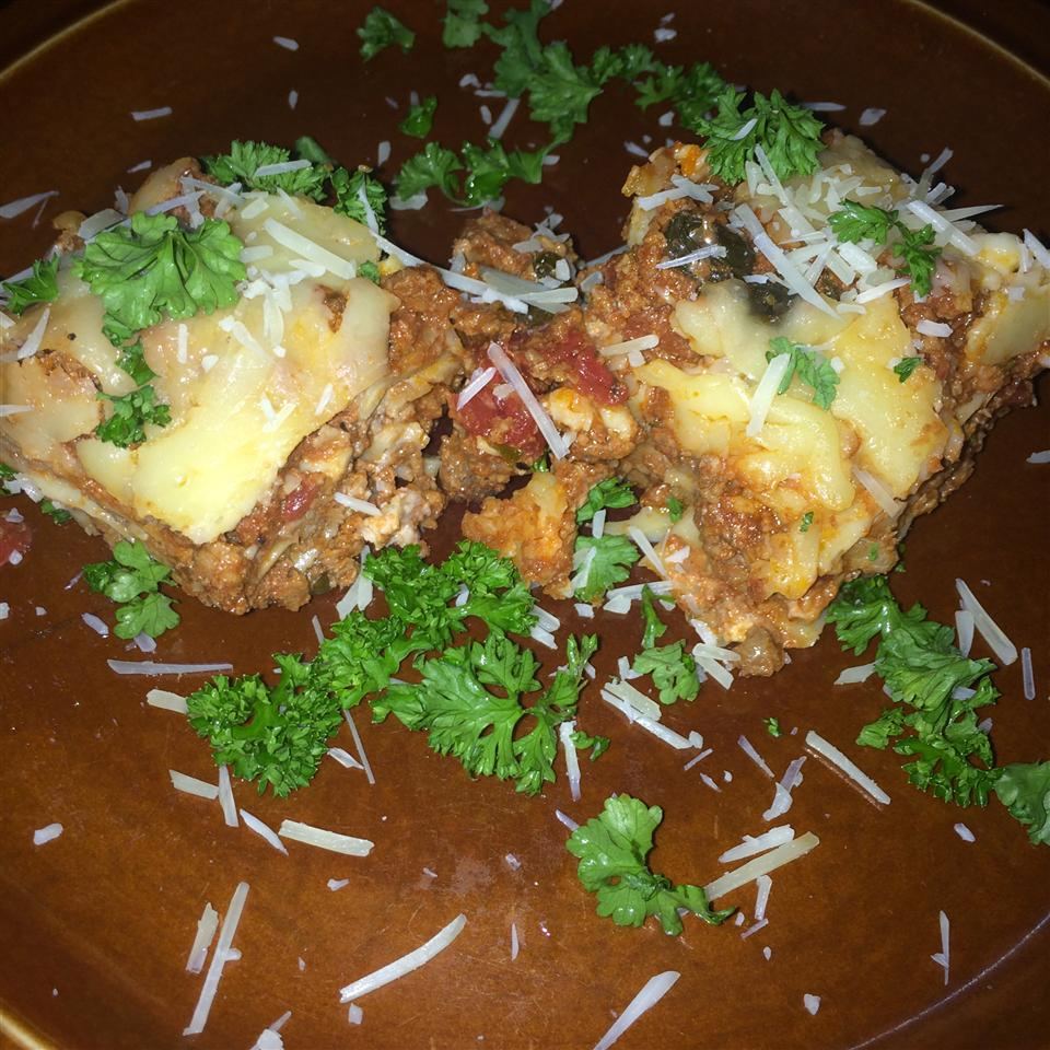 American Lasagna Mei Ling Chen